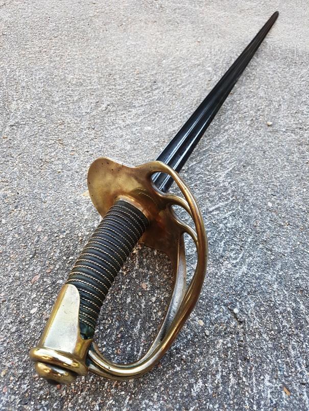 sabre de carabinier modèle 1854 20190626