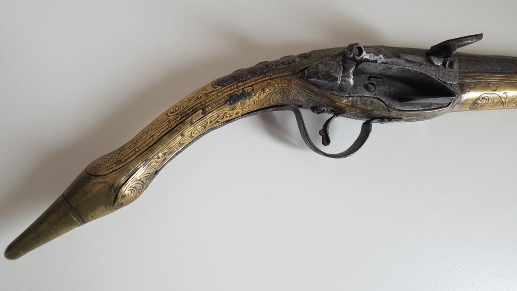 Rare pistolet à silex 17 ème siècle 20200414