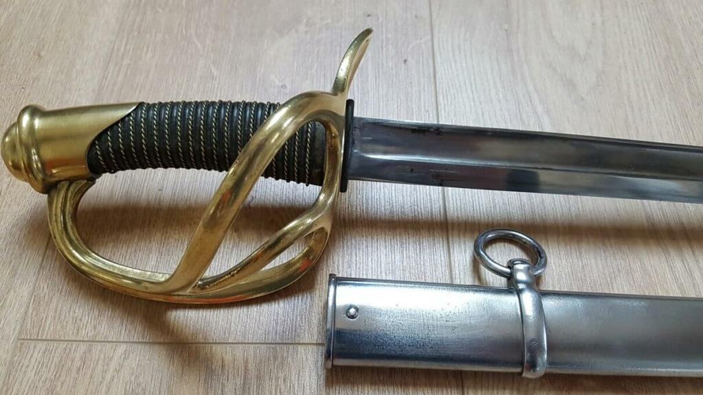 Sabre de cavalerie légère troupe modèle 1882 20210416