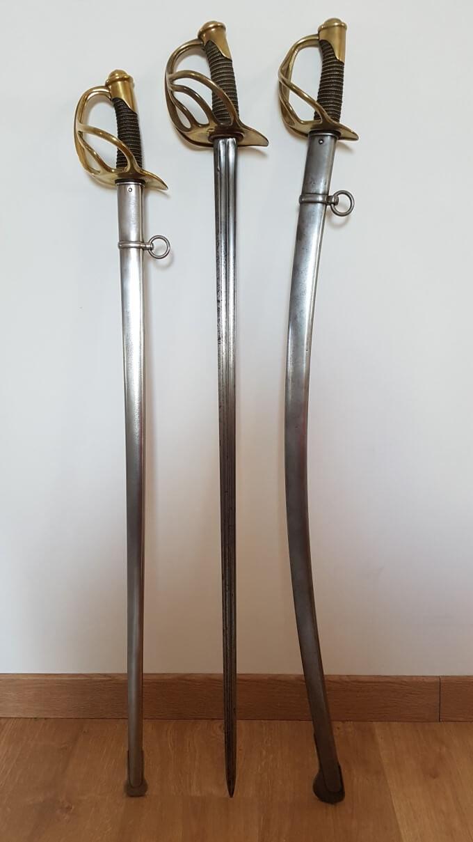 Sabre de cavalerie légère troupe modèle 1882 20210426