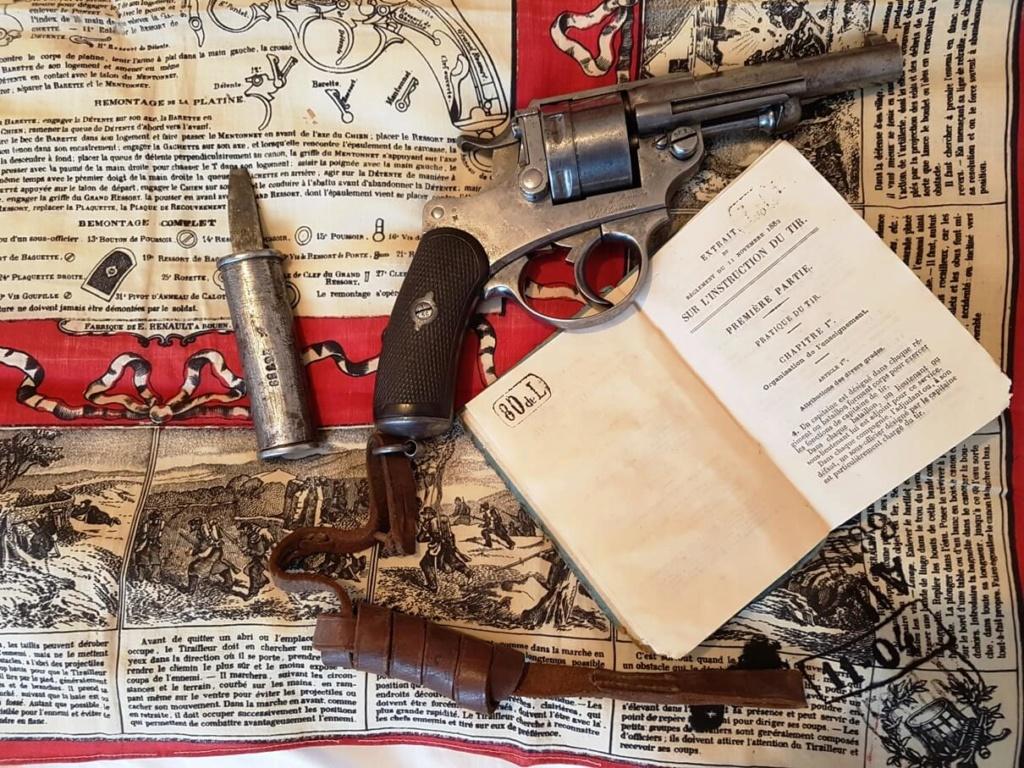Une instruction de tir sur le revolver mle 1873 recherchée depuis longtemps ! 220