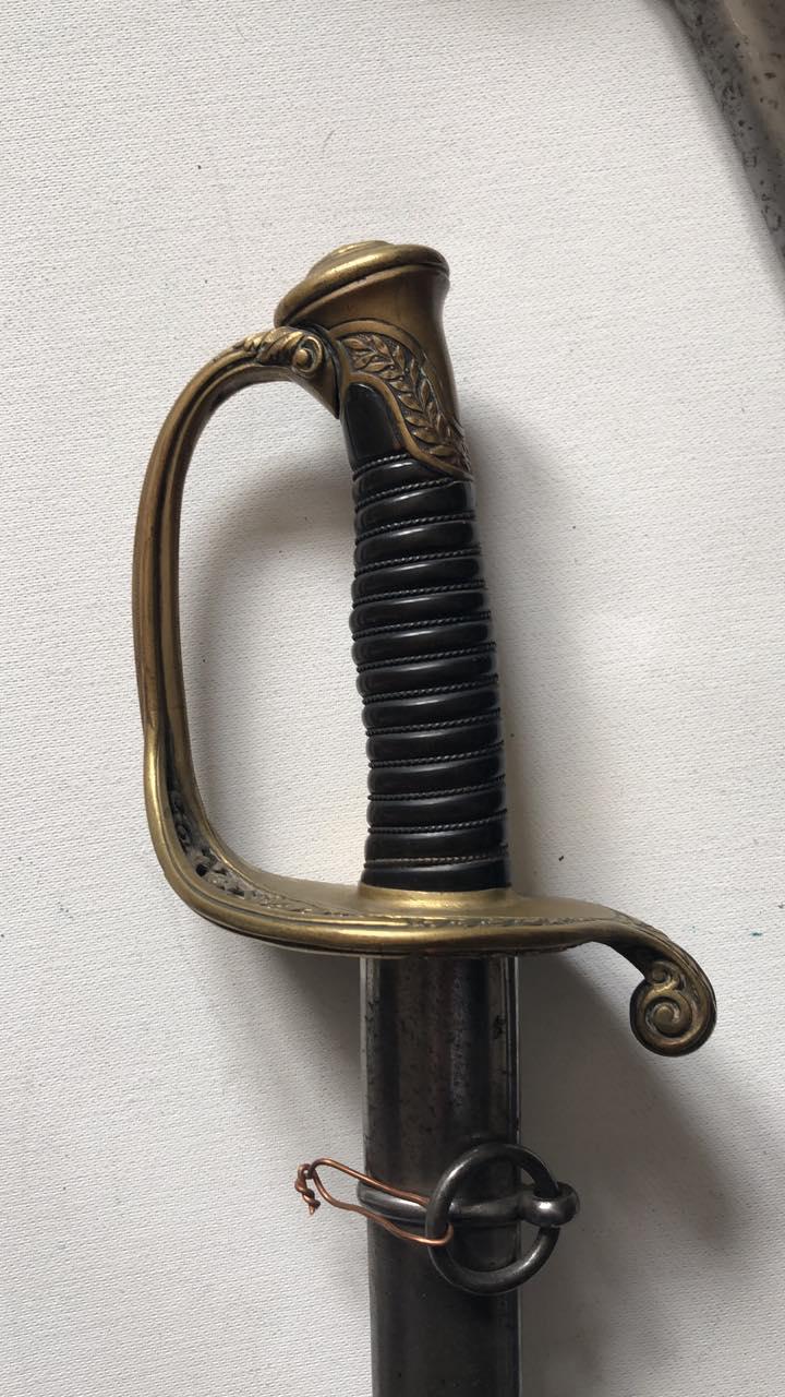 Sabre d'officier supérieur d'infanterie modèle 1845 - Page 3 237