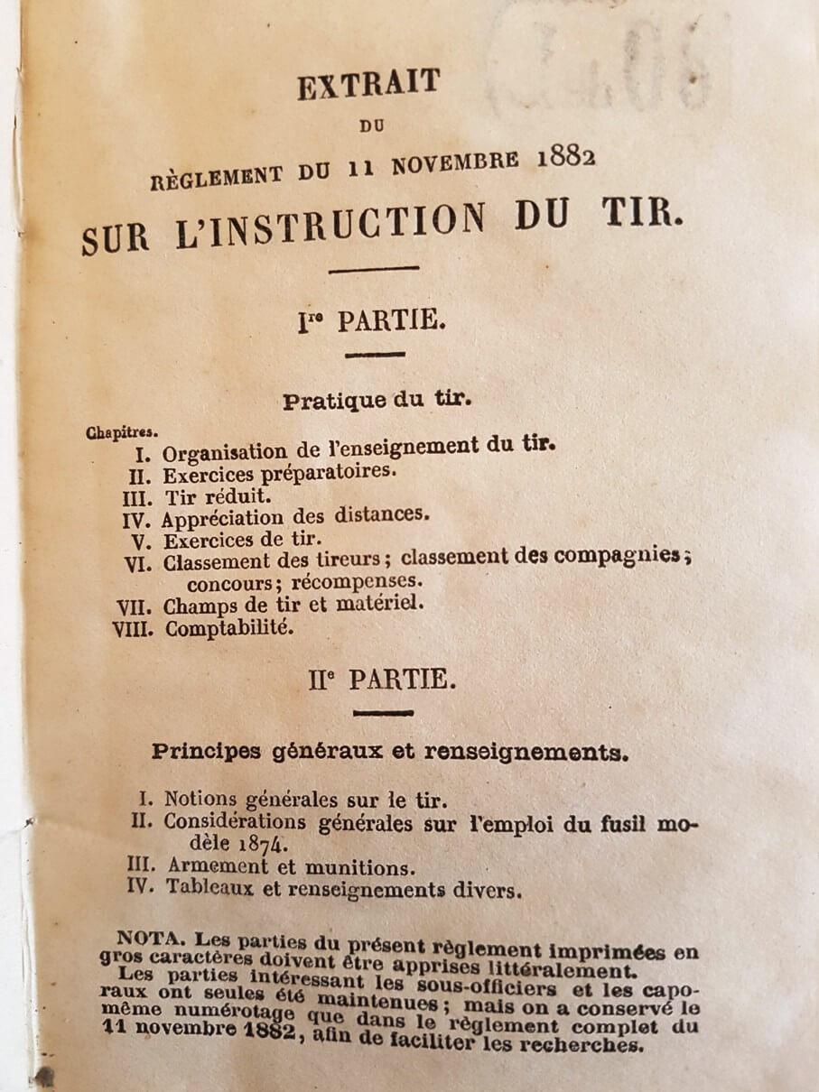 Une instruction de tir sur le revolver mle 1873 recherchée depuis longtemps ! 3-210