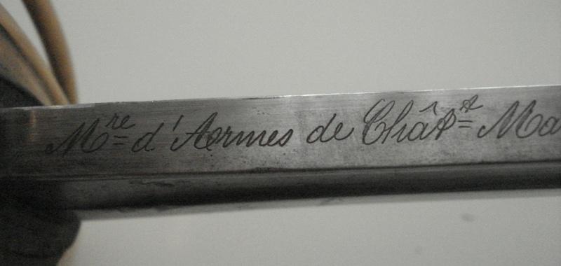 Curieux sabre de cavalerie modèle 1882 30422010