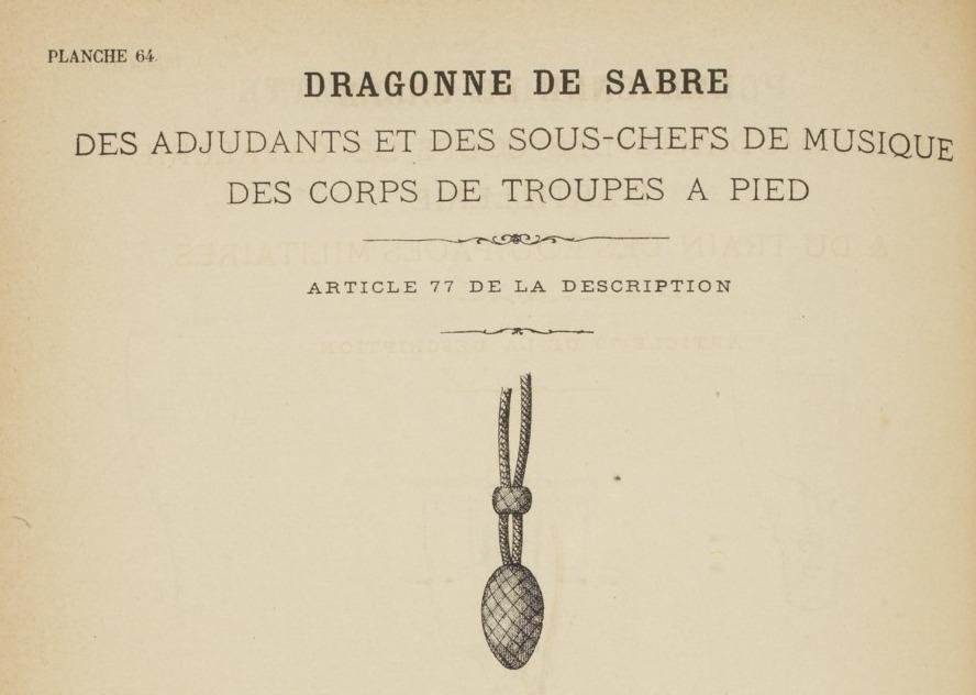 Quelle dragonne ?????? Adjudant 1845 - Page 2 311