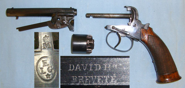 Revolver à percussion Herman David, entre 1856 et 1858. - Page 2 319
