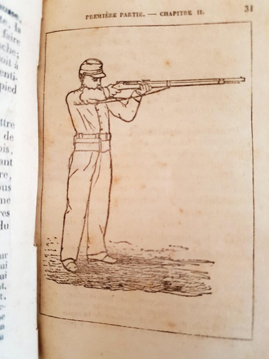 Une instruction de tir sur le revolver mle 1873 recherchée depuis longtemps ! 4-210