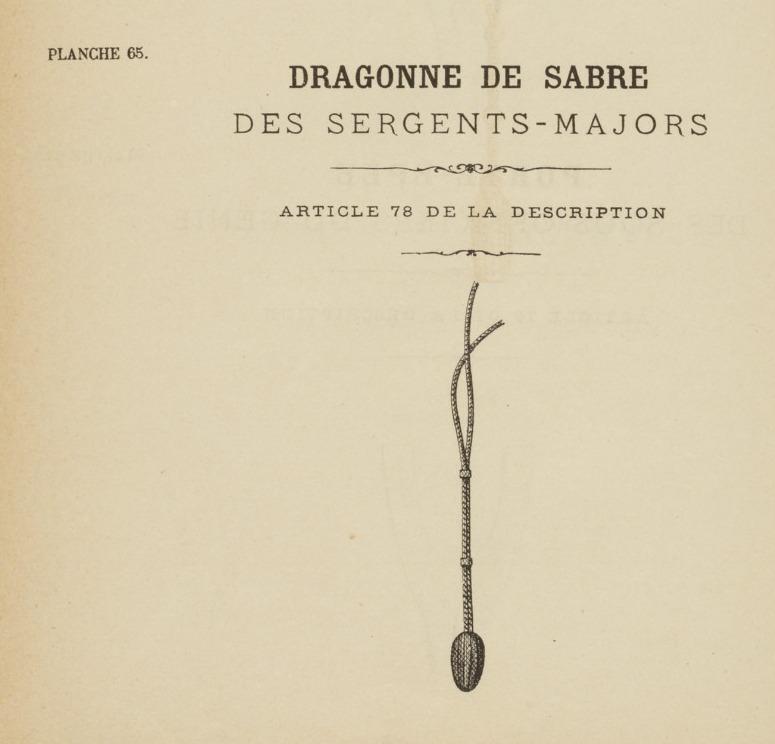 Quelle dragonne ?????? Adjudant 1845 - Page 2 411