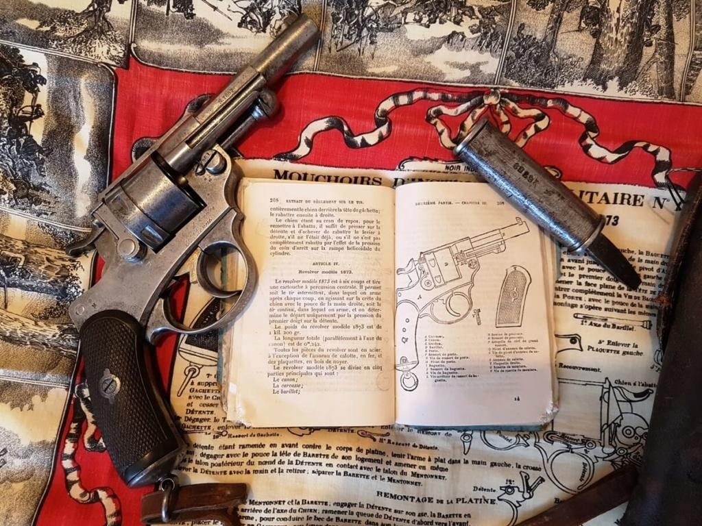 Une instruction de tir sur le revolver mle 1873 recherchée depuis longtemps ! 417