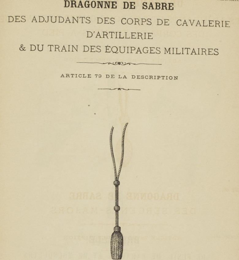 Quelle dragonne ?????? Adjudant 1845 - Page 2 511