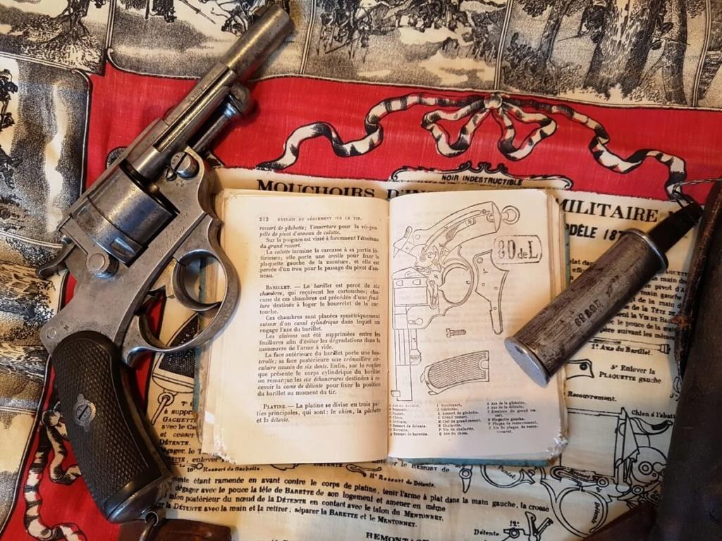 Une instruction de tir sur le revolver mle 1873 recherchée depuis longtemps ! 514