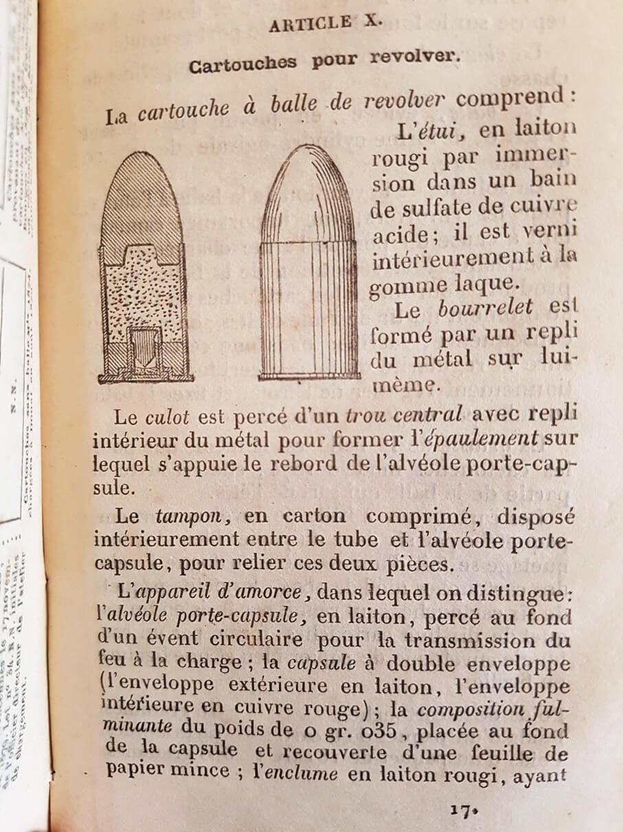 Une instruction de tir sur le revolver mle 1873 recherchée depuis longtemps ! 716