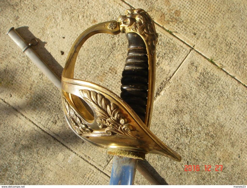 """Montures """"à la Nancy"""" : sabres fantaisie de fourbisseur inspiré du modèle 1882 739_0010"""