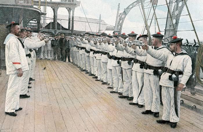 identif. IInd Empire + WW1 photos reconstitutions Exerci10