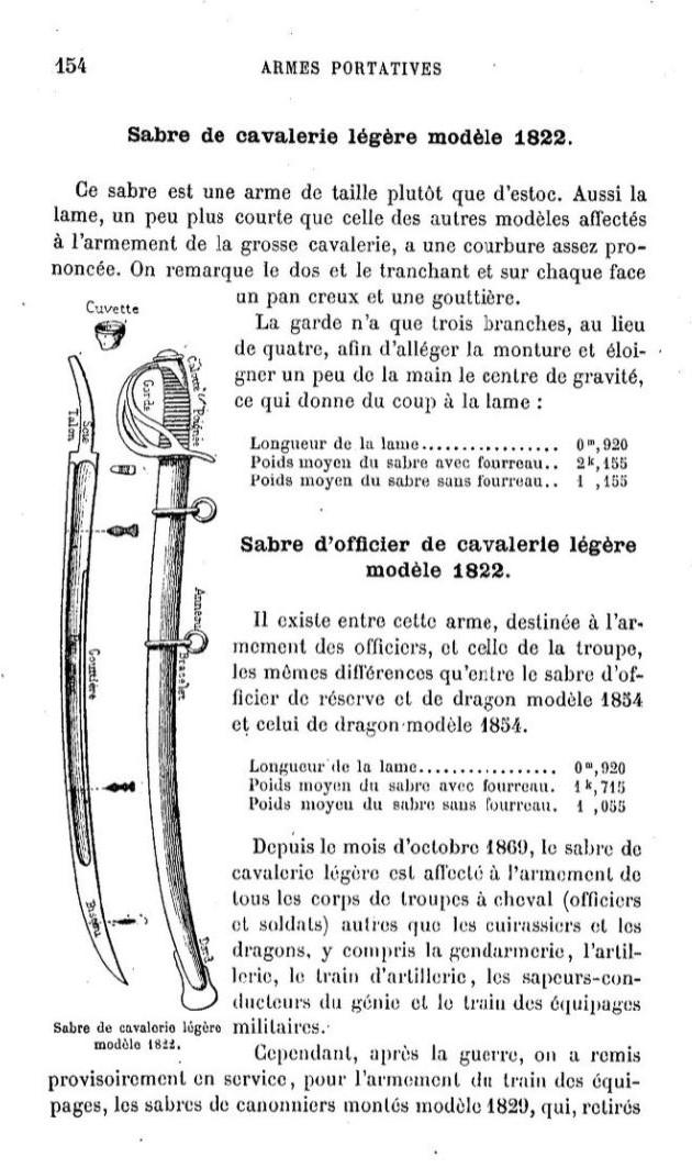 sabre canonnier 1829 - Page 4 Livre110