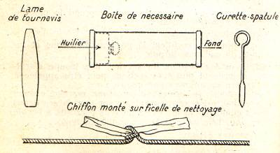 Baguette de nettoyage pour révolver mle 1873 français Necess10