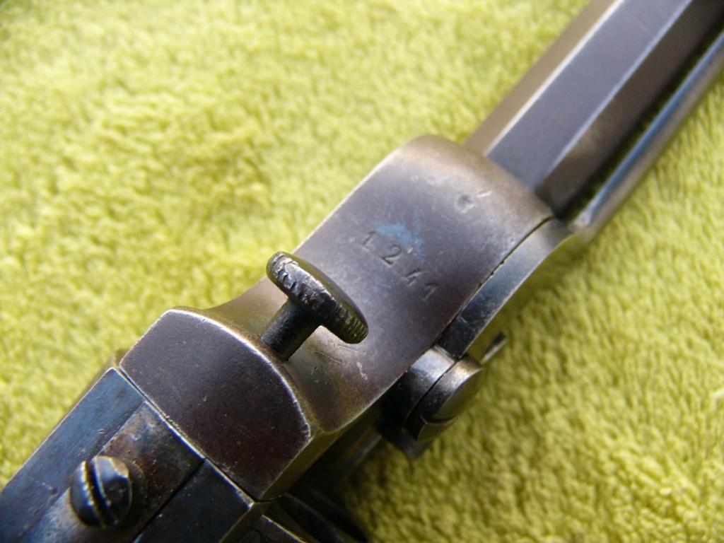 Revolver à percussion Herman David, entre 1856 et 1858. P1240817