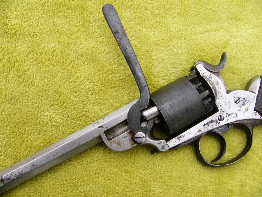 Revolver à percussion Herman David, entre 1856 et 1858. P1250412