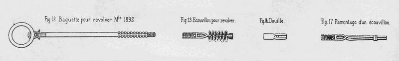 Baguette de nettoyage pour révolver mle 1873 français Rev_ml10