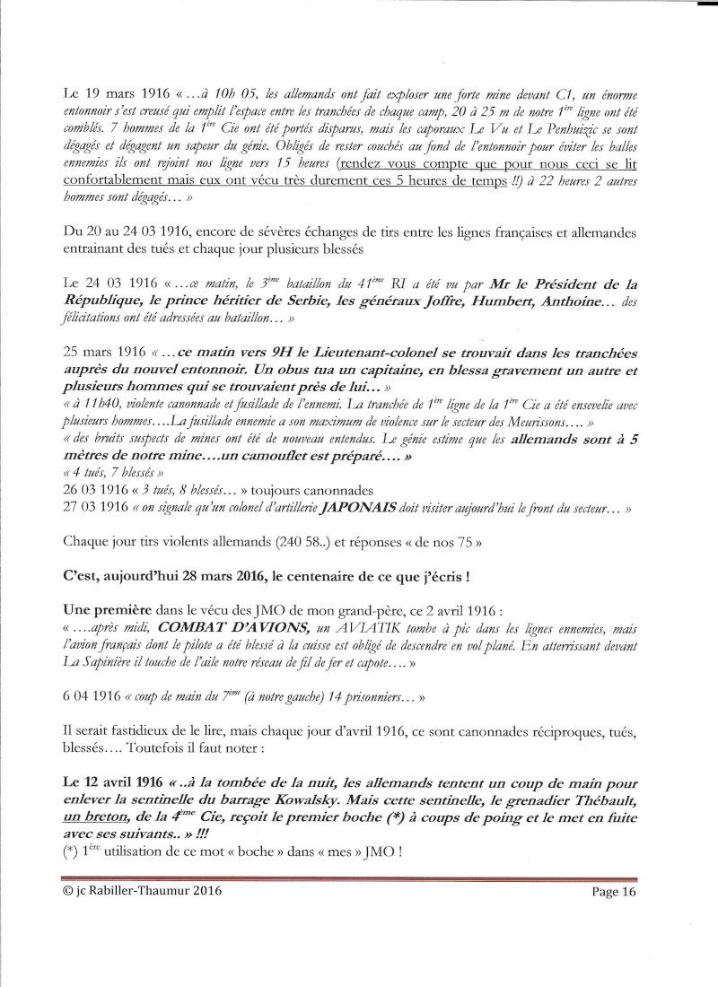 [HISTOIRES ET HISTOIRE] [SUJET UNIQUE] LE CENTENAIRE DE LA GRANDE GUERRE - Page 6 P_1610