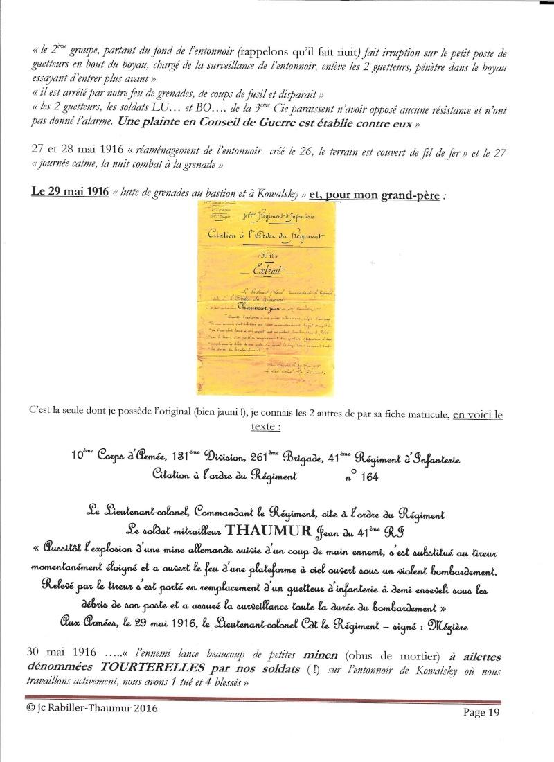 [HISTOIRES ET HISTOIRE] [SUJET UNIQUE] LE CENTENAIRE DE LA GRANDE GUERRE - Page 6 P_1910