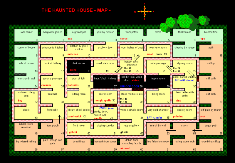 The Haunted House Hhouse10
