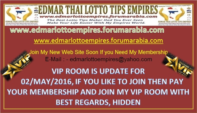 VIP ROOM IS UPDATE FOR 02/MAY/2016 Facebo11