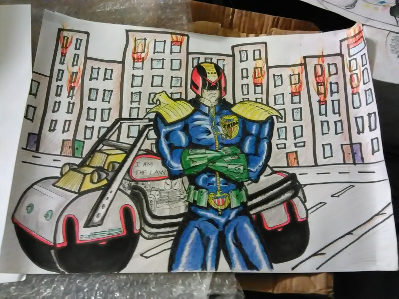 Does anyone else collect judge dredd comic or figures? - Page 6 Img_2023
