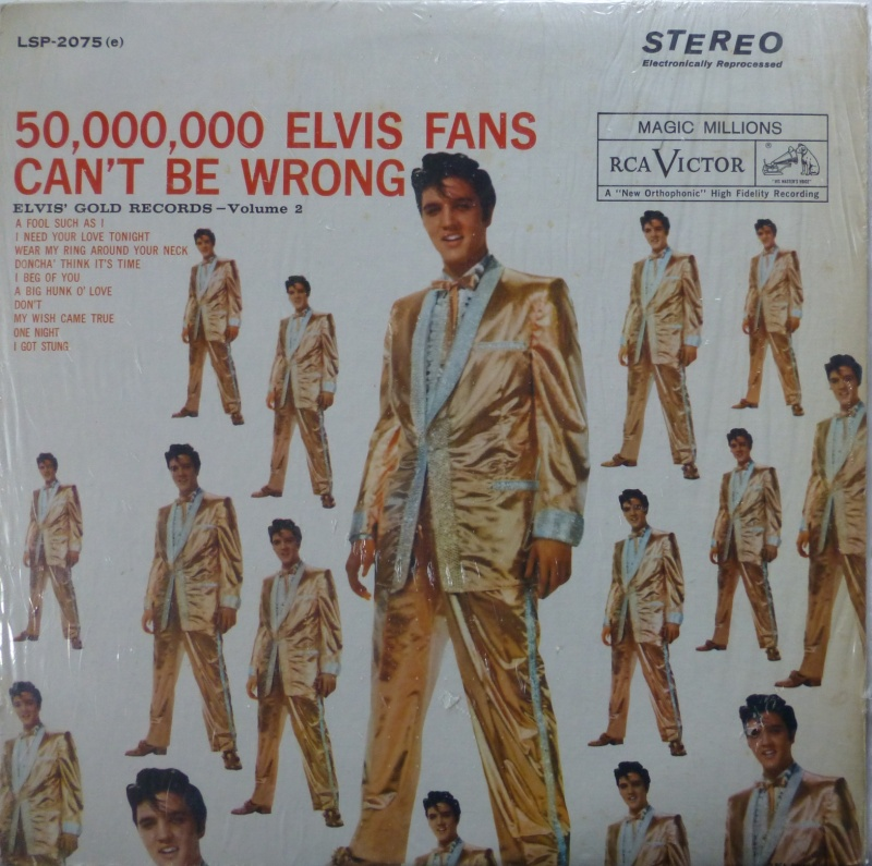 ELVIS' GOLD RECORDS VOL 2 P1070017