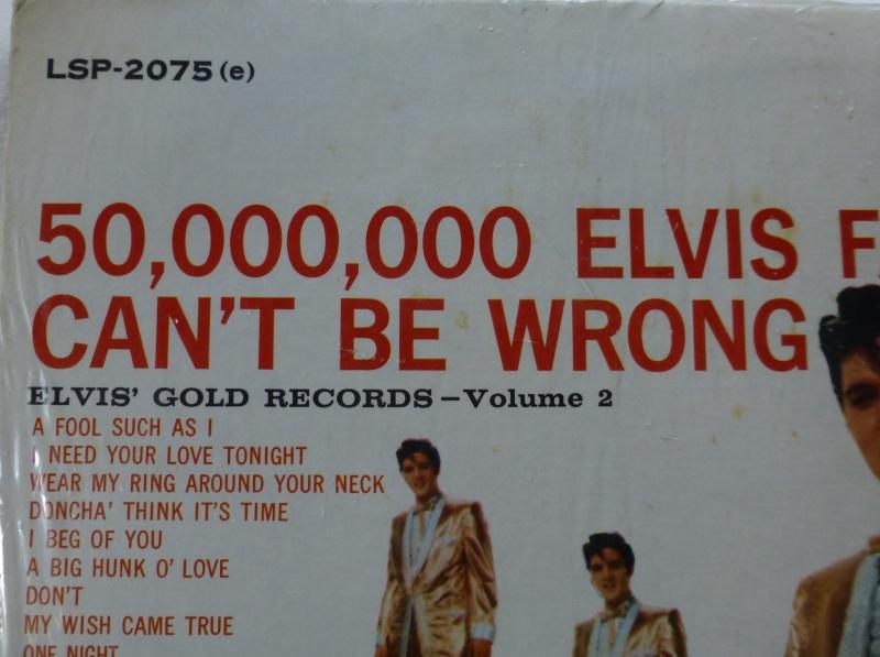 ELVIS' GOLD RECORDS VOL 2 P1070018