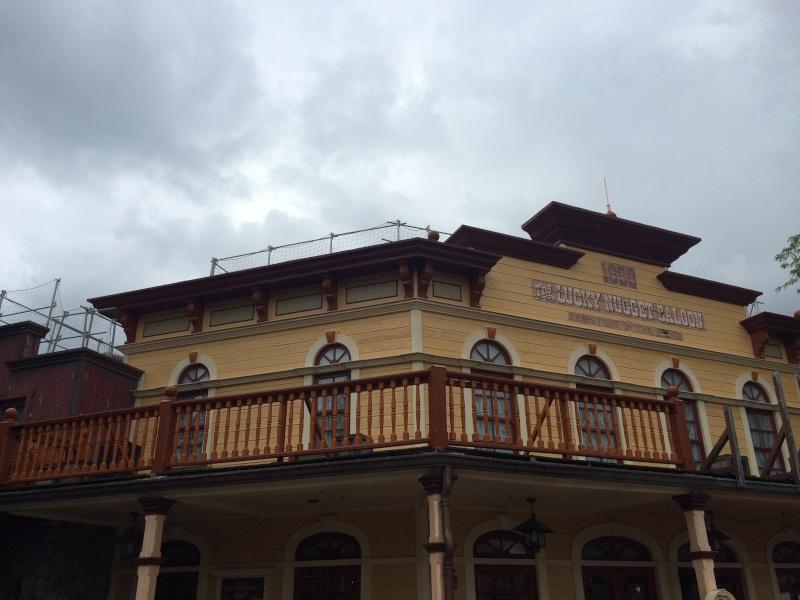 [Travaux] Des garde-corps pour les toitures des bâtiments de Frontierland ! Img_8511