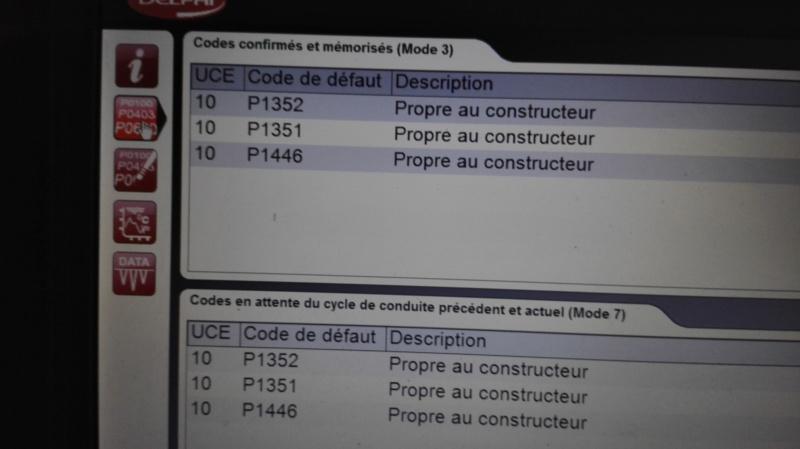 p1446 code peugeot 207