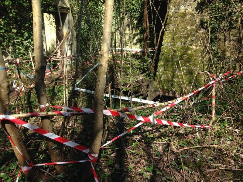 Mercredi 30 mars Sécurisation de la Ruine Img_3714