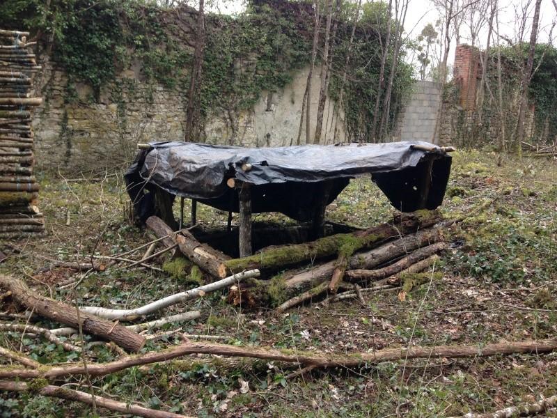 Mercredi 30 mars Sécurisation de la Ruine Img_3715