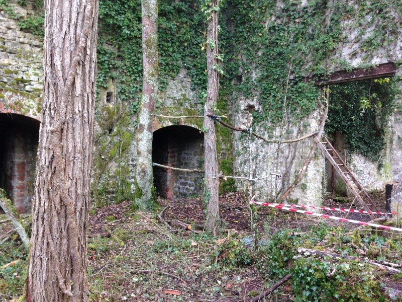 Mercredi 30 mars Sécurisation de la Ruine Img_3724