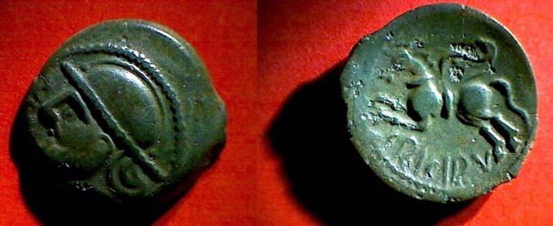 Les différentes variétés du bronze SUESSIONS au cheval ailé 2b12