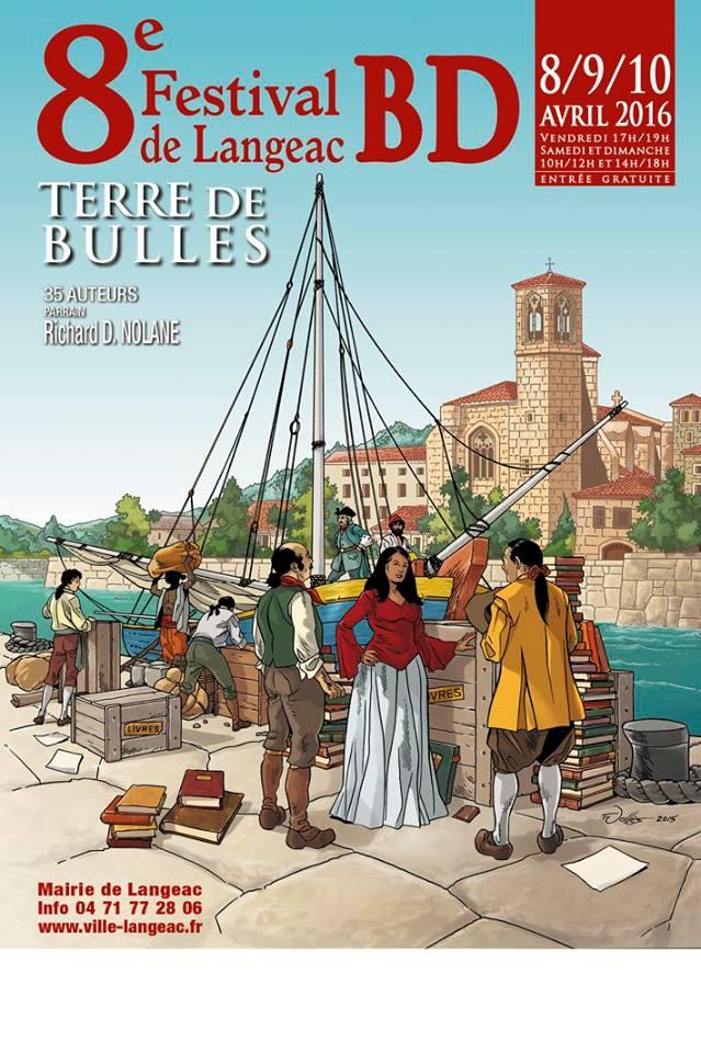 Festival BD Terre de Bulle Langeac 43, 8/9/10 avrill 2016 Festiv11