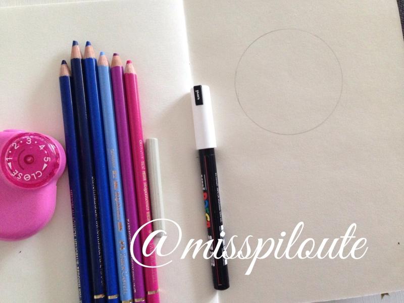 Tuto : galaxie aux crayons de couleur Image29