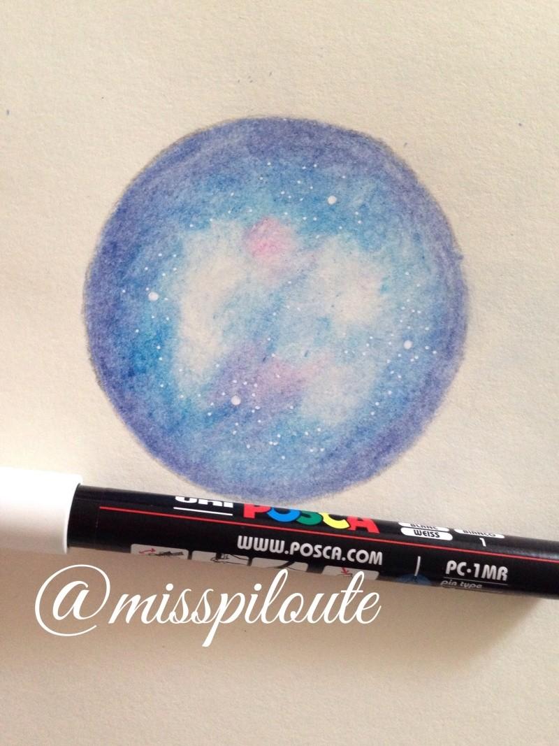 Tuto : galaxie aux crayons de couleur Image31