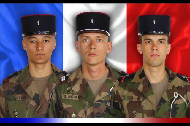 Décès et hommage aux trois soldats du 511ème RT _1094610