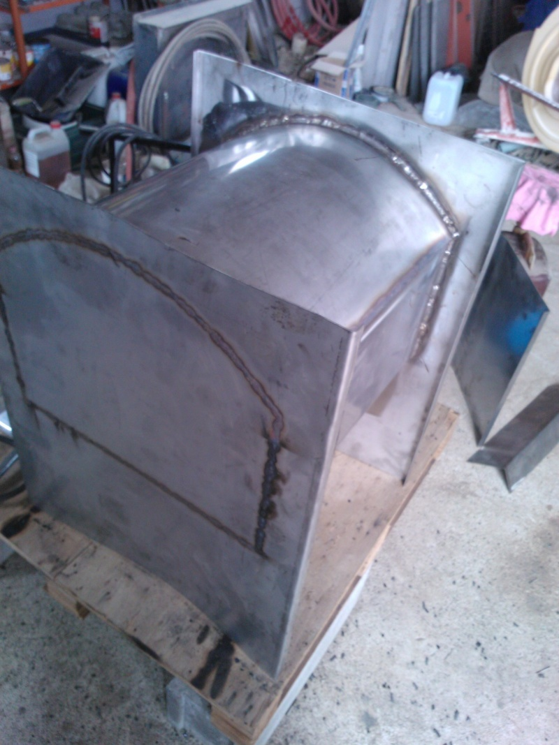 Forno a legna per esterno in acciaio Wp_00012