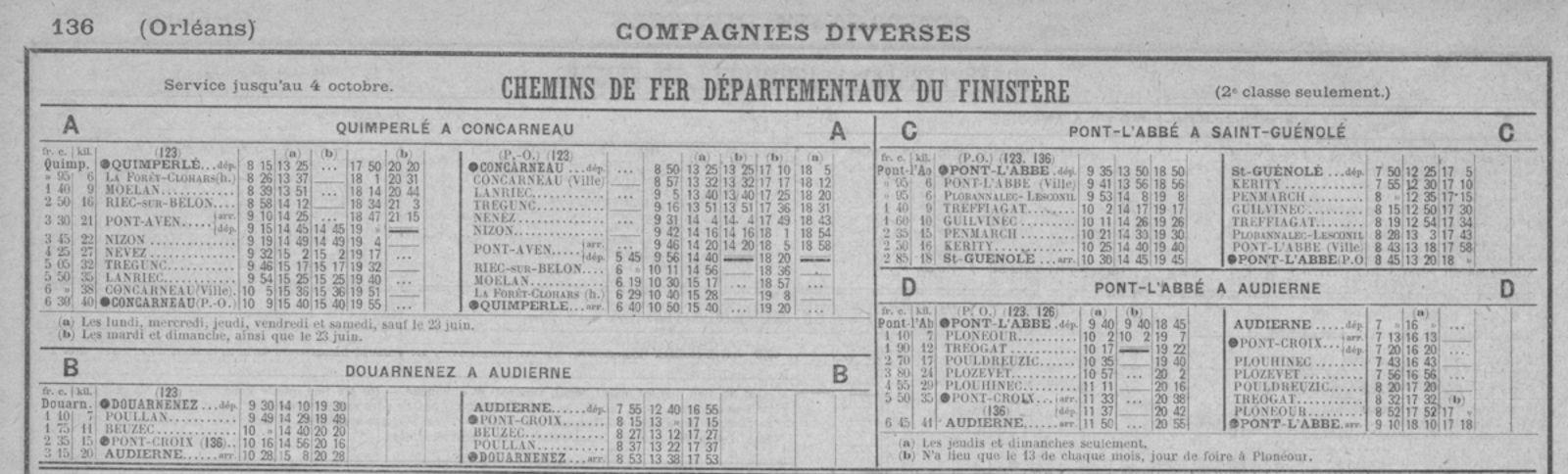 Pk 679,7 : Gare de Concarneau (29) - Page 2 Horair10