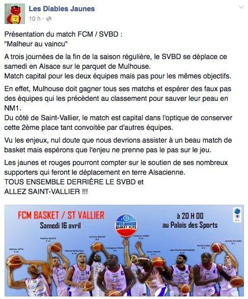 [J.32] FC MULHOUSE - Saint-Vallier : 82 - 77 AP - Page 2 Captur11