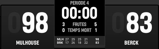 [J.34] FC MULHOUSE - AB Berck R : 98 - 83  Captur95