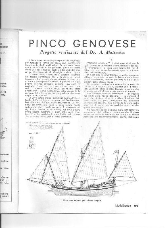PIANI COSTRUZIONE PINCO LIGURE E SAETTIA 00210