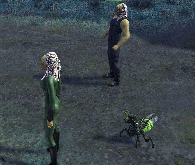 Wraith Queen@alexpov - provenant de StarGate Atlantis Captur12