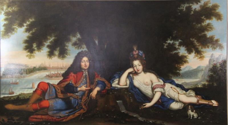 Le marquis de Nointel à Jérusalem par Arnould de Vuez ? Carrey10