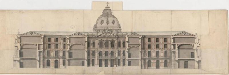 utopiques - Expo : Les Architectures rêvées (1660-1815) Dessin13