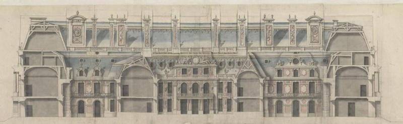 utopiques - Expo : Les Architectures rêvées (1660-1815) Dessin14