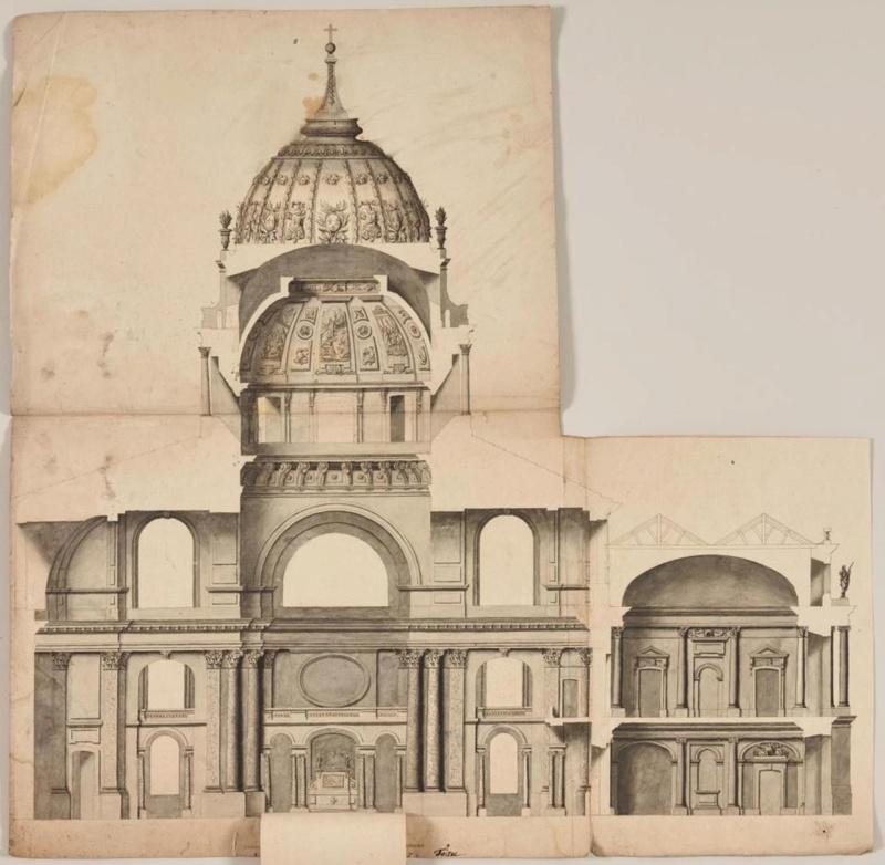 utopiques - Expo : Les Architectures rêvées (1660-1815) Dessin15